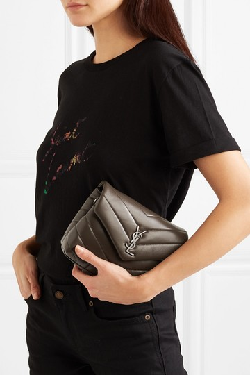 Saint Laurent Monogram Loulou Shoulder Toy Quilted Leather