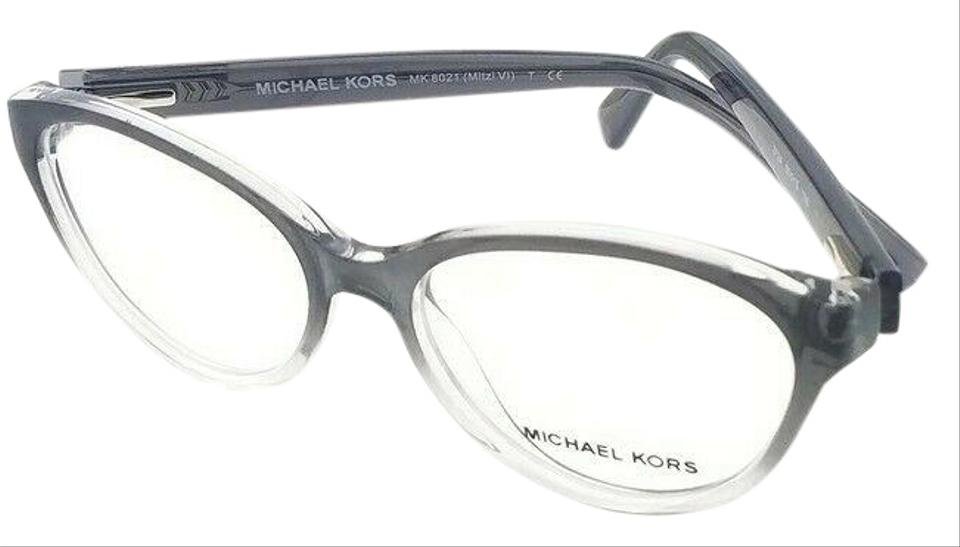 feb5009cbb1f Michael Kors Mk8021-3124-50 Mitzi Women's Smoke Frame Genuine Eyeglasses