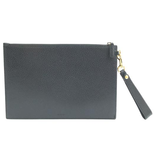 Gucci Marmont Leather Clutch Wristlet in Black Image 2