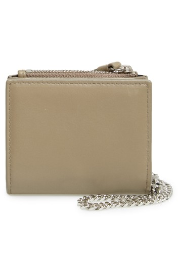 AllSaints All Saints FLORA Leather Bifold Wallet (Wristslet) on Chain Image 4