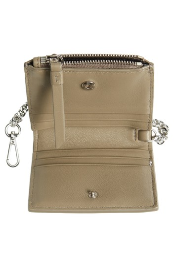 AllSaints All Saints FLORA Leather Bifold Wallet (Wristslet) on Chain Image 6