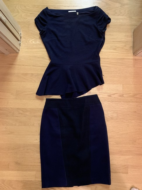 T Tahari T Tahari skirt peplum top suit set XS 2 Image 2