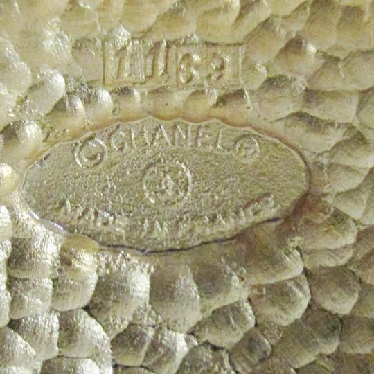 Chanel CHANEL CC Logo Accessory Pin Brooch Gold-Tone France Vintage Image 2