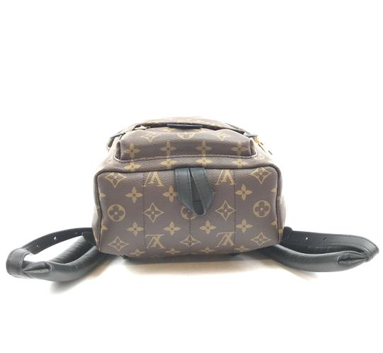 Louis Vuitton Lv Palm Springs Pm Monogram Backpack Image 3