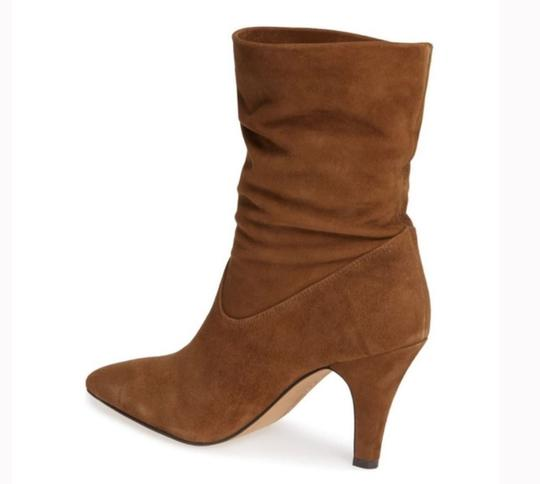 Vince Camuto Ankleboot Leather Pumpernickel Boots Image 1