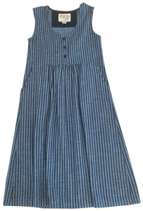 blue with black stripes Maxi Dress by ace&jig