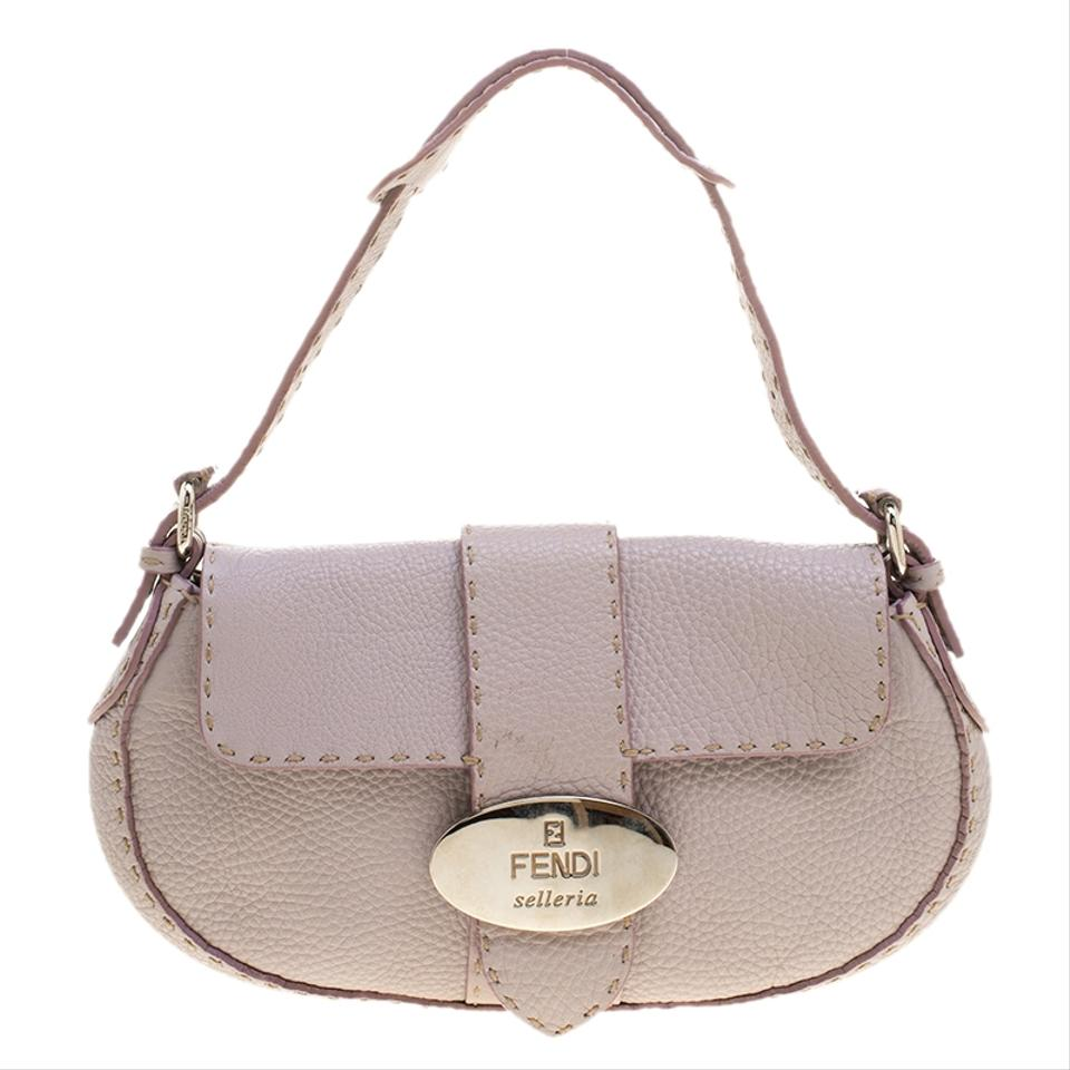 a0af17ff74 Fendi Lilac Selleria Purple Leather Shoulder Bag - Tradesy