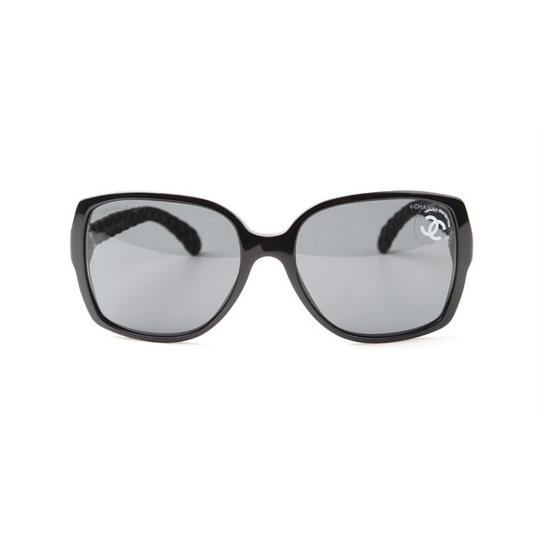 Chanel CHANEL Sunglasses CH5289Q Square Black Quilted Image 1