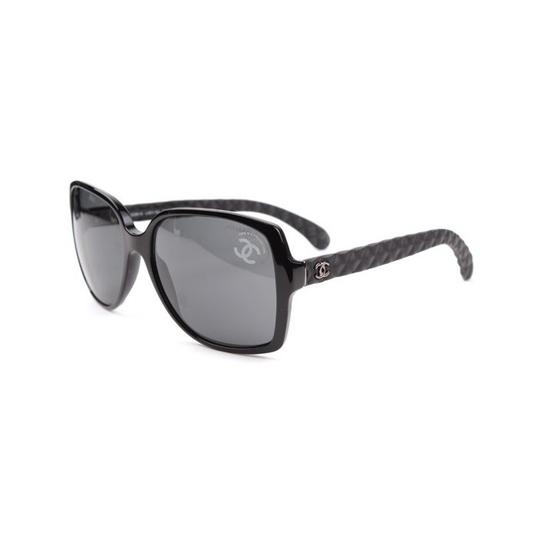 Chanel CHANEL Sunglasses CH5289Q Square Black Quilted Image 2