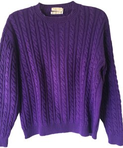 Brooks Brothers Cotton Cable Knit Sweater