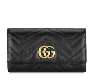 Gucci New DF GG Marmont Continental Wallet