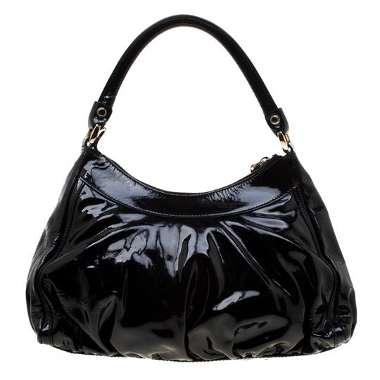 Gucci Patent Leather Leather Hobo Bag Image 1