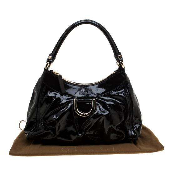Gucci Patent Leather Leather Hobo Bag Image 11