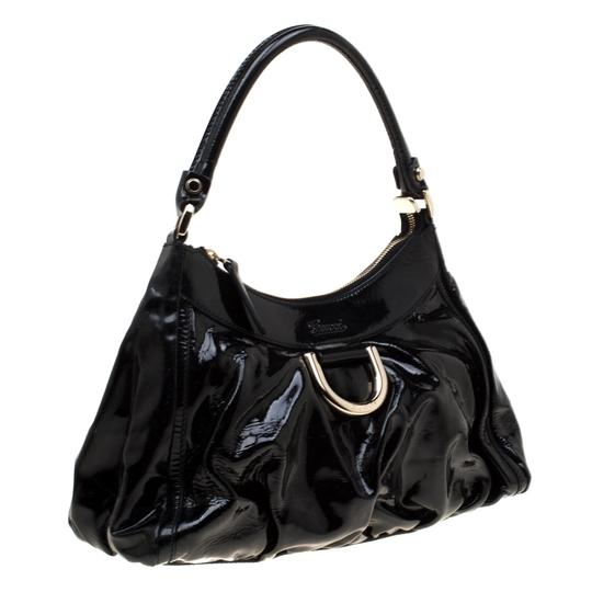 Gucci Patent Leather Leather Hobo Bag Image 3