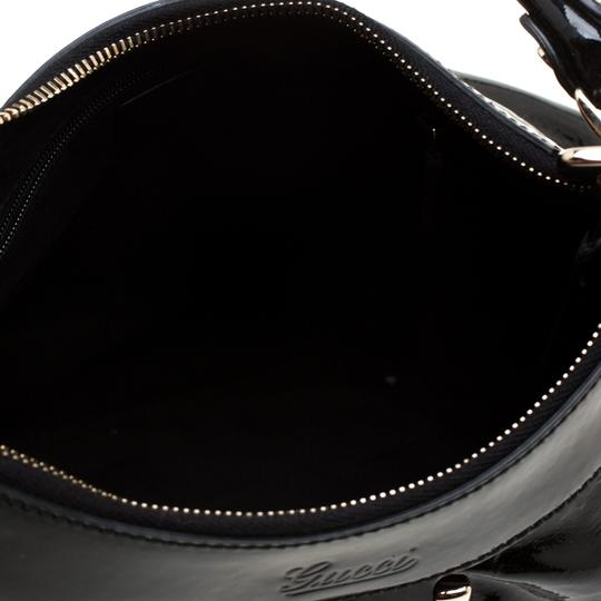 Gucci Patent Leather Leather Hobo Bag Image 7