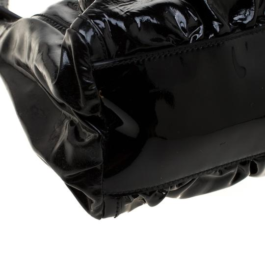 Gucci Patent Leather Leather Hobo Bag Image 8
