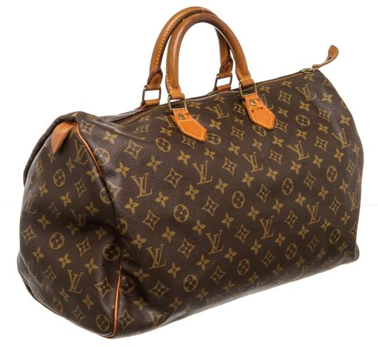 Louis Vuitton Satchel in Brown Image 1