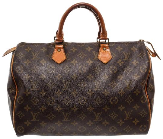 Preload https://img-static.tradesy.com/item/25518794/louis-vuitton-speedy-monogram-35-cm-brown-canvas-and-leather-satchel-0-1-540-540.jpg