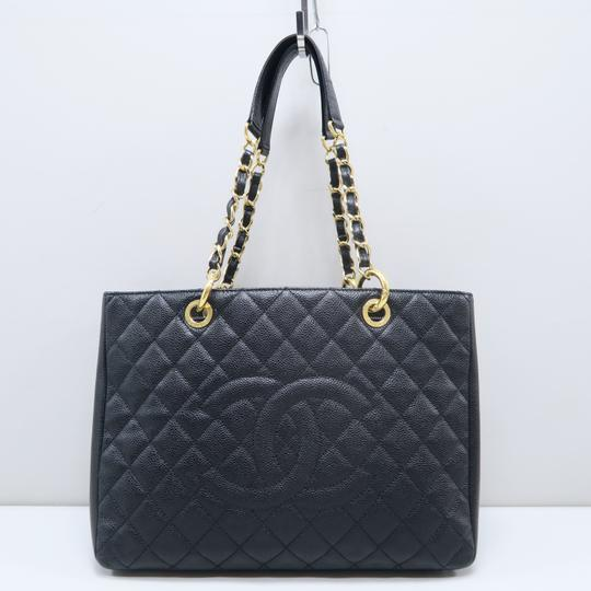 Chanel Gst Caviar Grand Shopping Tote Shoulder Bag Image 1