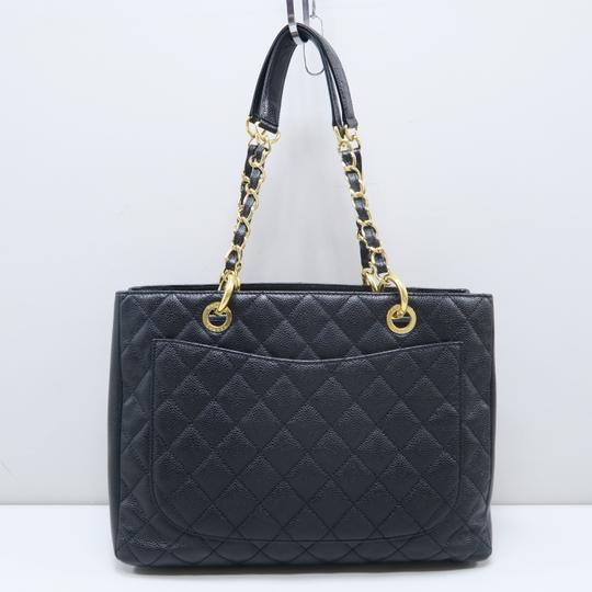 Chanel Gst Caviar Grand Shopping Tote Shoulder Bag Image 2