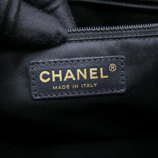 Chanel Gst Caviar Grand Shopping Tote Shoulder Bag Image 9