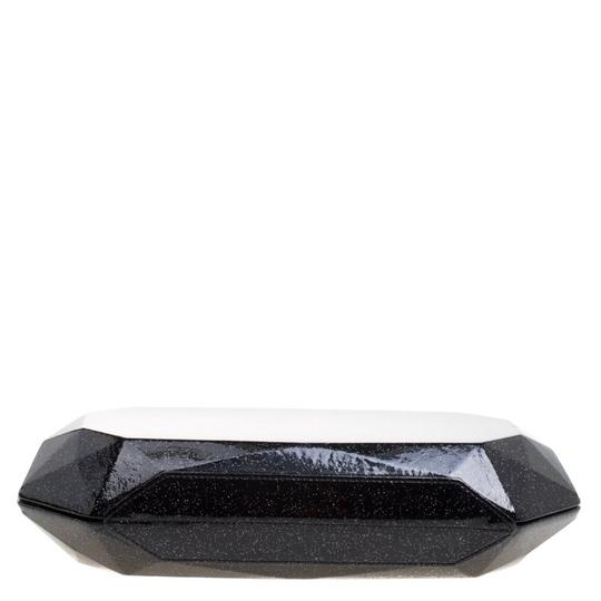 Chanel Satin Leather Black Clutch Image 3