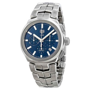 TAG Heuer Link Index H-Marker Chronograph S-Steel Automatic Round Men's Watch