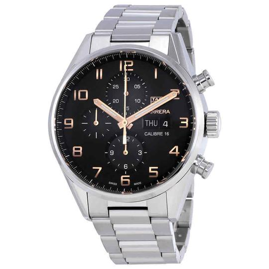 Preload https://img-static.tradesy.com/item/25518923/tag-heuer-black-silver-tone-carrera-arabic-numeral-chronograph-gold-s-steel-men-s-watch-0-0-540-540.jpg