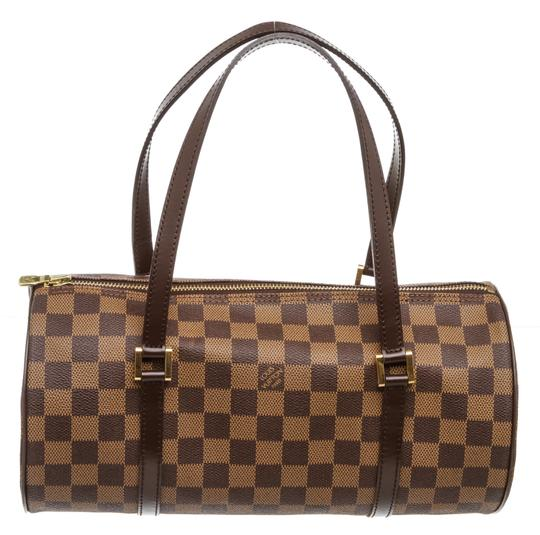 Preload https://img-static.tradesy.com/item/25519027/louis-vuitton-papillon-damier-ebene-26-cm-brown-canvas-and-leather-shoulder-bag-0-0-540-540.jpg