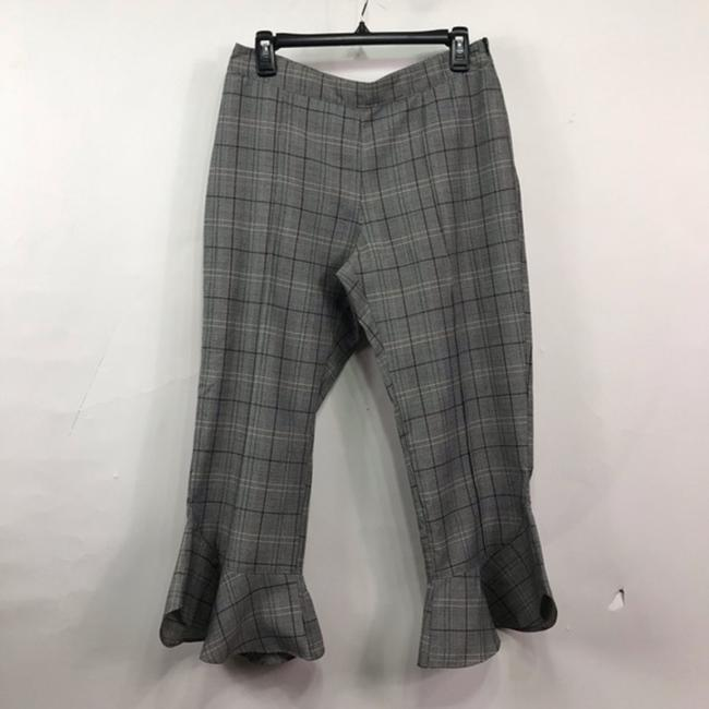 Ro & De Capri/Cropped Pants Gray Image 2