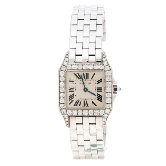 Preload https://img-static.tradesy.com/item/25519074/cartier-white-diamond-18k-gold-santos-demoiselle-2703-women-s-wristwatch-28mm-watch-0-0-540-540.jpg