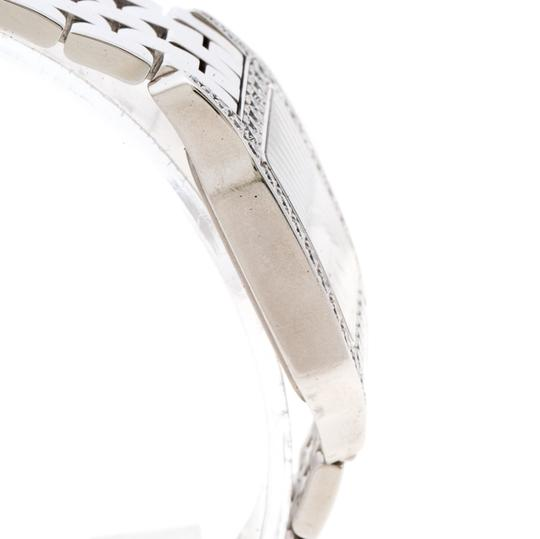 Cartier Diamond 18k White Gold Santos Demoiselle 2703 Women's Wristwatch 28MM Image 6