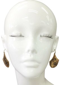 Generic Gold Finish Bohemian Style Engraved Country Horse Design Earrings