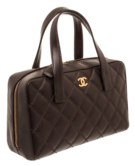 Chanel Tote in Dark Brown Image 1