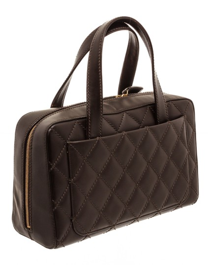 Chanel Tote in Dark Brown Image 2