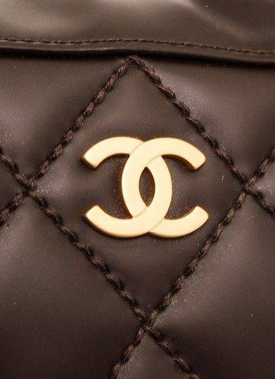 Chanel Tote in Dark Brown Image 4