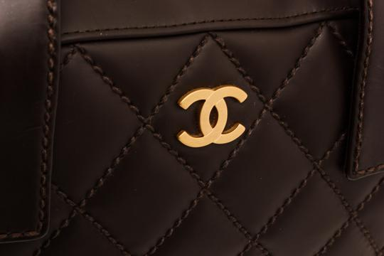 Chanel Tote in Dark Brown Image 5