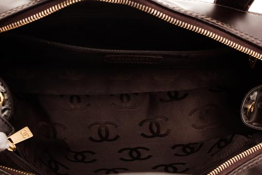 Chanel Tote in Dark Brown Image 7