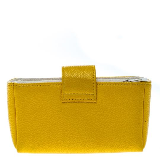 Chanel Yellow Leather IPhone 5 Case Image 1