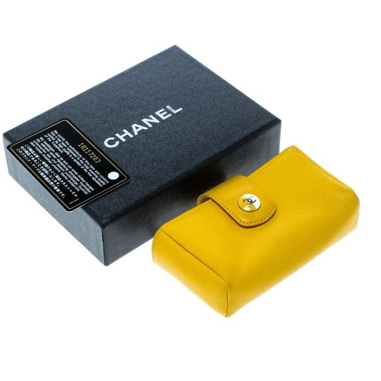 Chanel Yellow Leather IPhone 5 Case Image 10