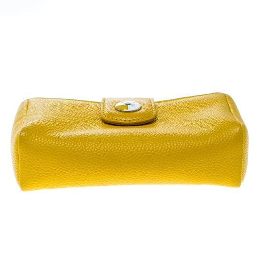 Chanel Yellow Leather IPhone 5 Case Image 3