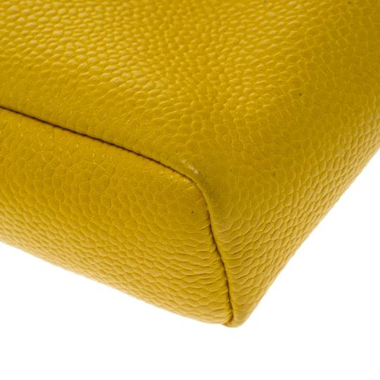 Chanel Yellow Leather IPhone 5 Case Image 4