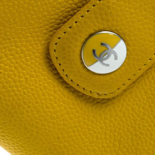 Chanel Yellow Leather IPhone 5 Case Image 7