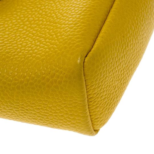 Chanel Yellow Leather IPhone 5 Case Image 8