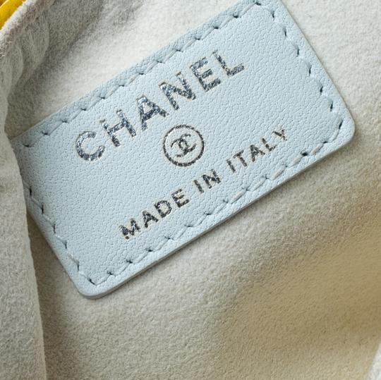 Chanel Yellow Leather IPhone 5 Case Image 9