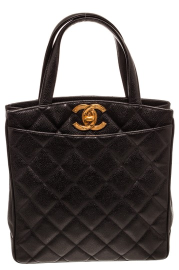 Preload https://img-static.tradesy.com/item/25519095/chanel-bag-quilted-vintage-north-south-black-caviar-leather-tote-0-0-540-540.jpg
