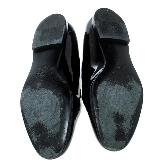 Chanel Patent Leather Black Flats Image 3