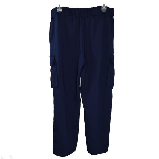 Michael Kors Fashion Drawstring Basics Baggy Pants Navy Image 1