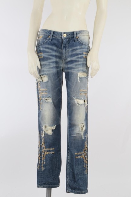 Robin's Jean Casual Capri/Cropped Denim-Medium Wash Image 4