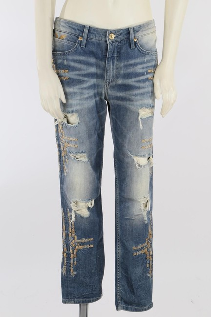 Robin's Jean Casual Capri/Cropped Denim-Medium Wash Image 5